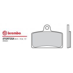 Front brake pads Brembo Derbi 80 GPR CUP 2004 -  type SA