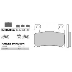 Front brake pads Brembo Harley-Davidson 1801 FLSS SOFTAIL SLIM S 2016 -  type SA
