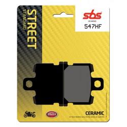 Front brake pads SBS Yamaha RD 350 LC 1981 - 1982 směs HF