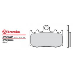 Front brake pads Brembo BMW 1200 R 1200 GS ADVENTURE 2006 - 2013 type SA