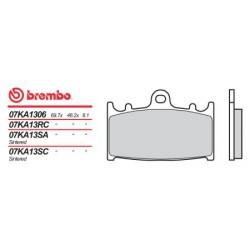 Front brake pads Brembo Suzuki 600 GSX-R 1997 - 2003 type SA