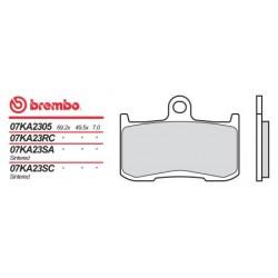 Front brake pads Brembo Suzuki 1340 B-KING 2008 -  type SA