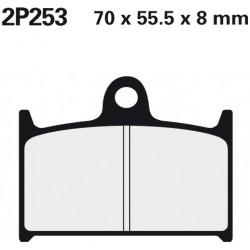 Front brake pads Nissin Suzuki GSX-R 750 1988 type NS
