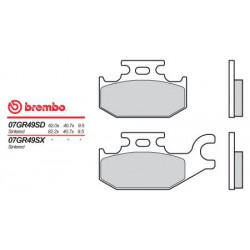 Front brake pads Brembo Can-Am 250 DS left/rear 2006 - 2014 type SD