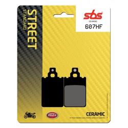 Front brake pads SBS Derbi GPR 75 Sport 1992 směs HF