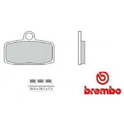Front brake pads Brembo KTM 0 FREERIDE E 2015 -  type SX
