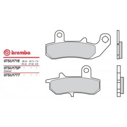 Front brake pads Brembo Can-Am 998 SPYDER SPORT 2016 -  type TT