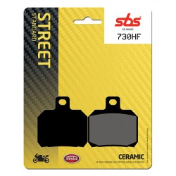 Front brake pads SBS Derbi GP1 125  2005 - 2006 směs HF