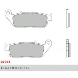 Front brake pads Brembo Peugeot 500 GEOPOLIS 2008 -  type XS