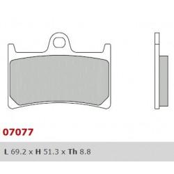 Front brake pads Brembo Yamaha 530 T MAX 2012 - 2016 type XS