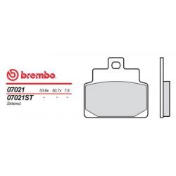 Front brake pads Brembo Aprilia 100 SCARABEO 2000 -  type XS