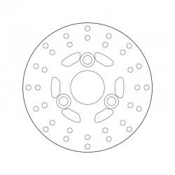 Front brake disc Brembo PEUGEOT 50 SVM 1997 -