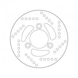 Front brake disc Brembo KYMCO 50 YUP SP 2000 -