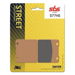 Front brake pads SBS Suzuki VL 1500 Intruder LC 1998 - 2001 směs HS