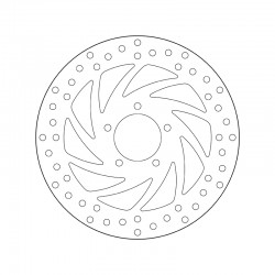 Front brake disc Brembo APRILIA 300 SCARABEO LIGHT 2006 - 2010
