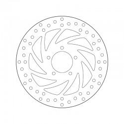 Front brake disc Brembo APRILIA 500 SCARABEO CLASSIC 2010 -