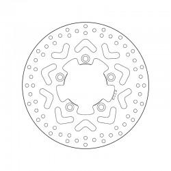 Front brake disc Brembo KYMCO 125 AGILITY R16 2008 - 2014