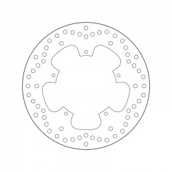 Front brake disc Brembo PIAGGIO 500 X9 EVOLUTION 2003 - 2007