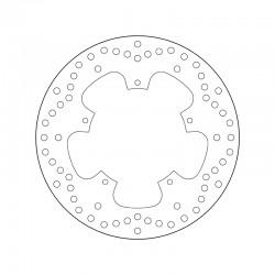 Front brake disc Brembo PIAGGIO 250 BEVERLY EURO3 MIC 2007 -