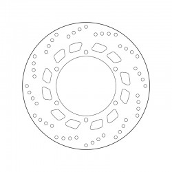 Front brake disc Brembo YAMAHA 125 XV S DRAG STAR 1999 - 2002