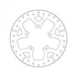 Front brake disc Brembo PEUGEOT 125 SATELIS COMPRESSOR 2011 -