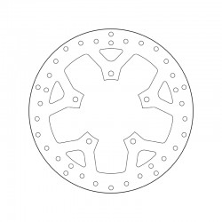 Front brake disc Brembo PEUGEOT 125 SATELIS RS 2011 -