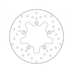 Front brake disc Brembo KYMCO 500 XCITING 2004 - 2009