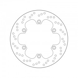 Front brake disc Brembo DAELIM 125 VT EVOLUTION 1999 - 2011