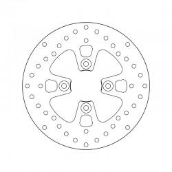 Front brake disc Brembo YAMAHA 150 MAJESTY 1998 - 2000