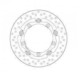 Front brake disc Brembo YAMAHA 530 T MAX LUX MAX 2015 -