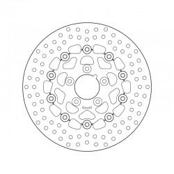 Front brake disc Brembo HARLEY DAVIDSON 1340 FXLR 1340 LOW RIDER CUSTOM 1987 - 1999