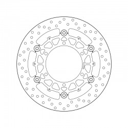 Front brake disc Brembo BMW 1000 K 1 1989 - 1993