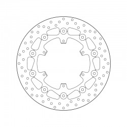 Front brake disc Brembo KTM 1050 ADVENTURE ABS 2015 - 2016