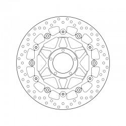 Front brake disc Brembo DUCATI 1199 PANIGALE S TRICOLORE ABS 2012 -