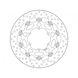 Front brake disc Brembo BMW 700 F 700 GS 2011 -