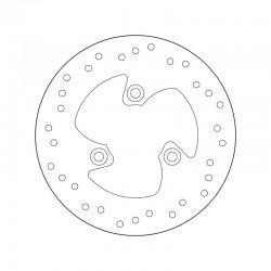Rear brake disc Brembo MALAGUTI 50 F12 PHANTOM DIGIT (TUTTI I MODELLI) 2003 -