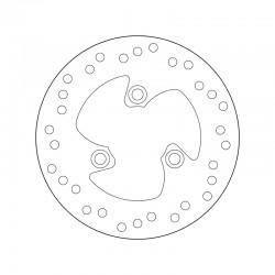 Rear brake disc Brembo BENELLI 50 491 ARMY 1997 -