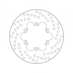 Rear brake disc Brembo BENELLI 250 VELVET TOURING 2001 -