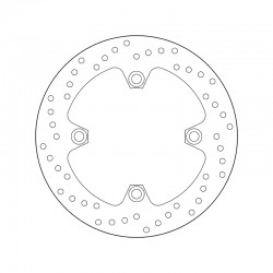 Rear brake disc Brembo KEEWAY 151 OUTLOOK 2008 -