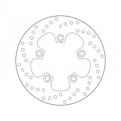 Rear brake disc Brembo SUZUKI 1100 GSX-R 1986 - 1988