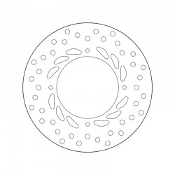 Rear brake disc Brembo HONDA 650 VIGOR FX 1999 - 2001
