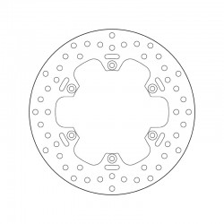 Rear brake disc Brembo MZ 1000 1000 S 2001 -