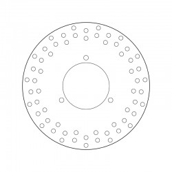 Rear brake disc Brembo ITALJET 250 JUPITER 2000 -