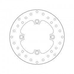 Rear brake disc Brembo MALAGUTI 160 CENTRO IE 2007 -