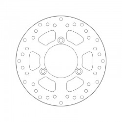 Rear brake disc Brembo SUZUKI 125 BURGMAN NEW 2006 - 2013