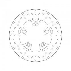 Rear brake disc Brembo KYMCO 300 DOWNTOWN I 2009 - 2014