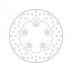 Rear brake disc Brembo KYMCO 350 DOWNTOWN I ABS 2015 -