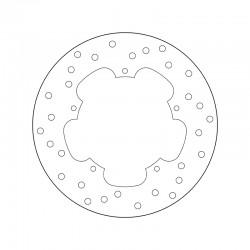 Rear brake disc Brembo GILERA 180 DNA 2001 - 2003
