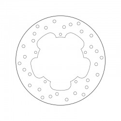 Rear brake disc Brembo GILERA 200 HERCULES 2002 -