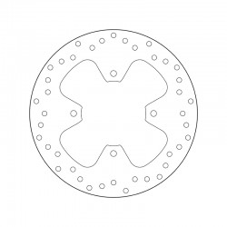 Rear brake disc Brembo MBK 300 KILIBRE 2003 - 2004